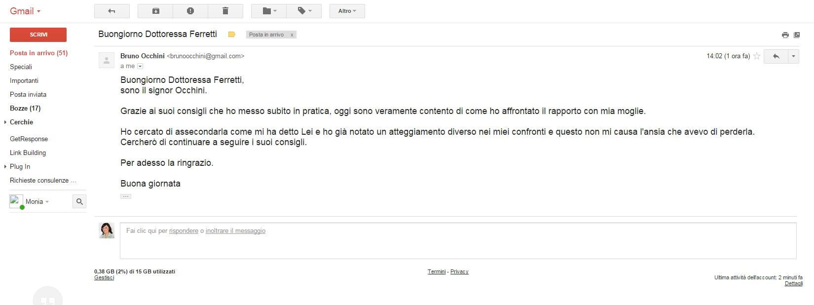 testimonianza Bruno Occhini
